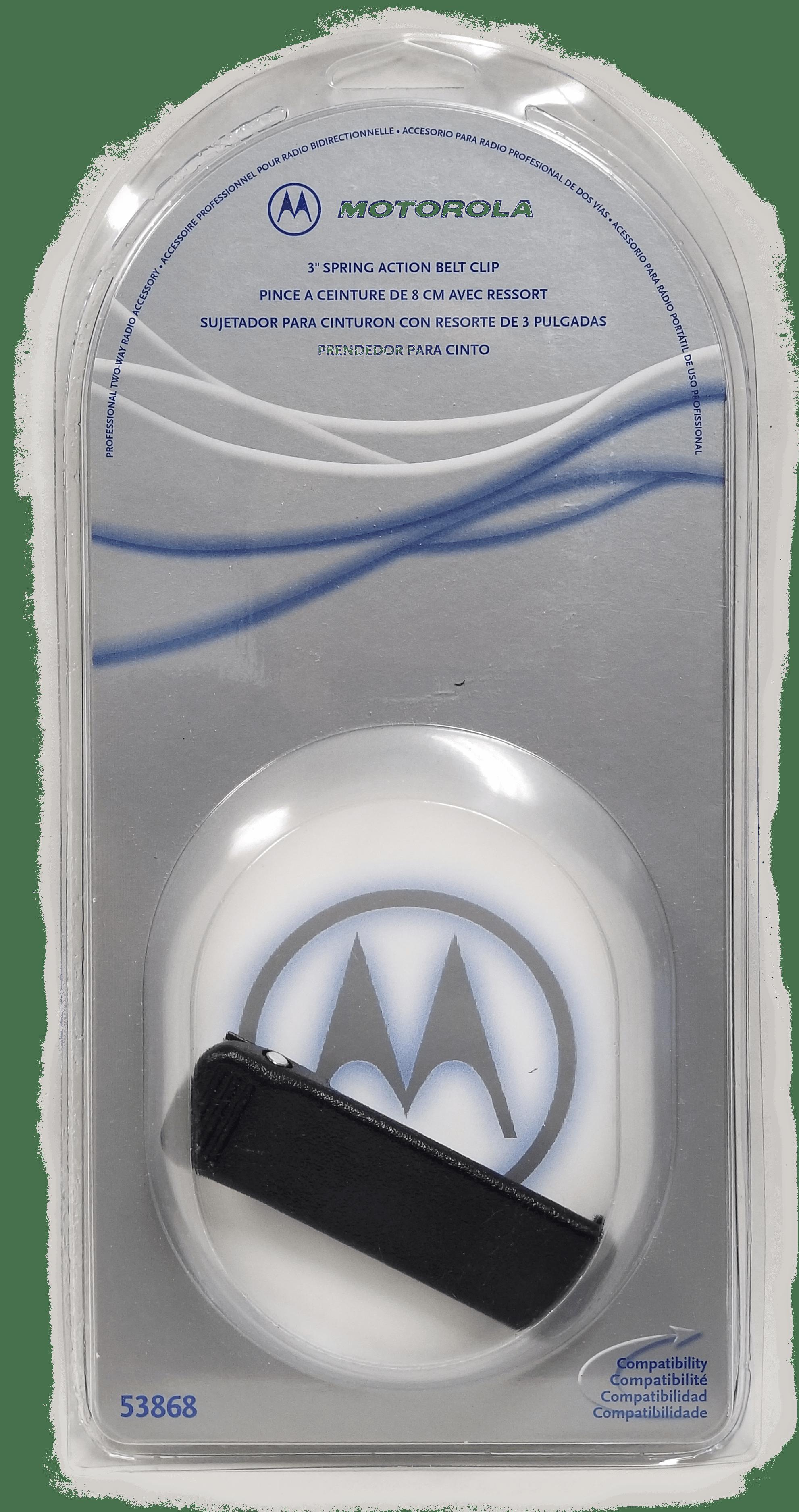 53868 - Motorola Heavy Duty Belt Clip For Spirit Radios