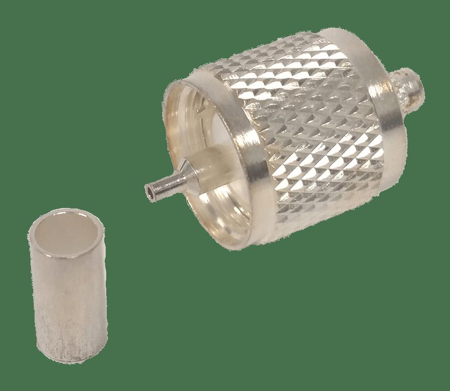 MPL9F - Maxrad Teflon Crimp On PL259 (5 Pack)
