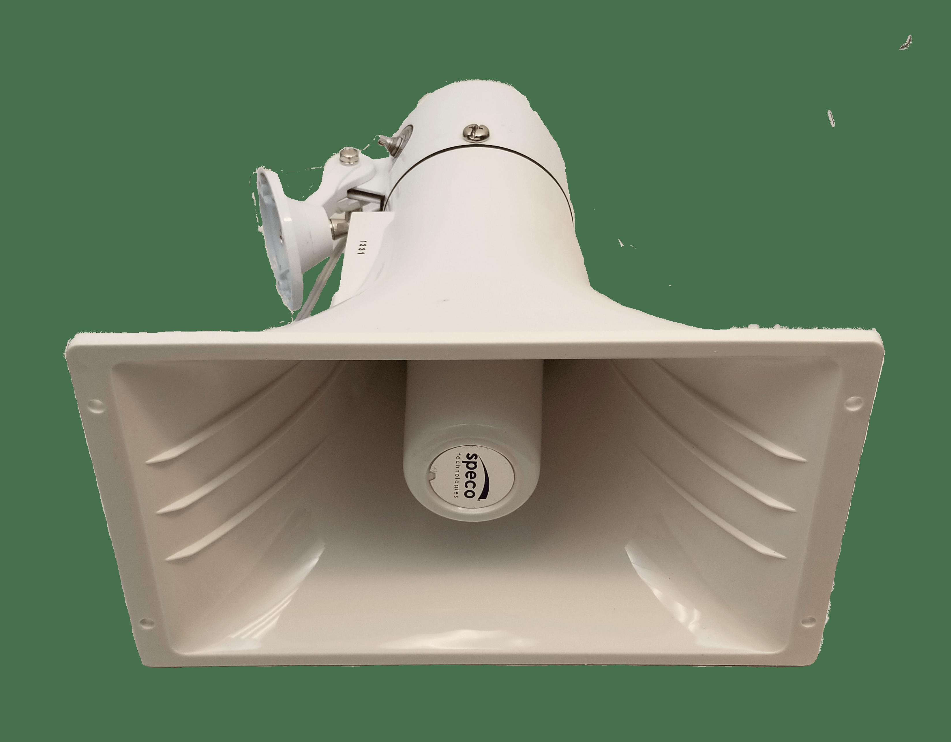 """SPC40RT - Speco 6.25"""" x 11"""" PA Public Address Speaker Horn 70 Volt"""