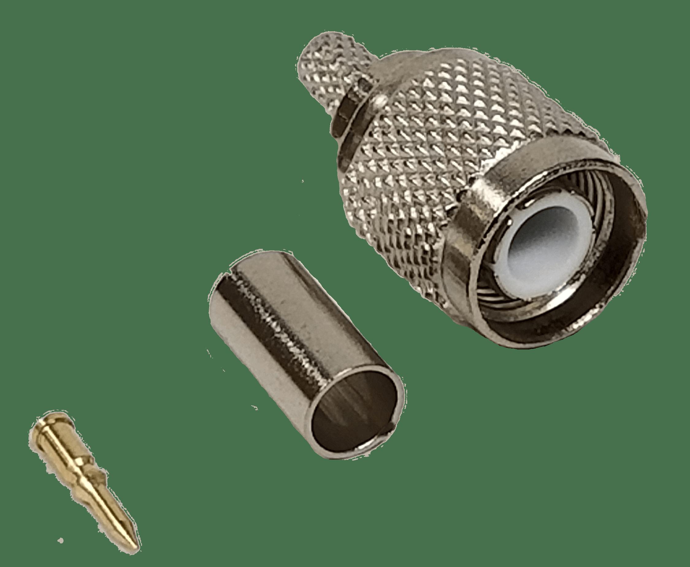 TNC1X - ProComm Crimp Type Tnc Connector (Bulk) For Rg8X/Rg59 Coax