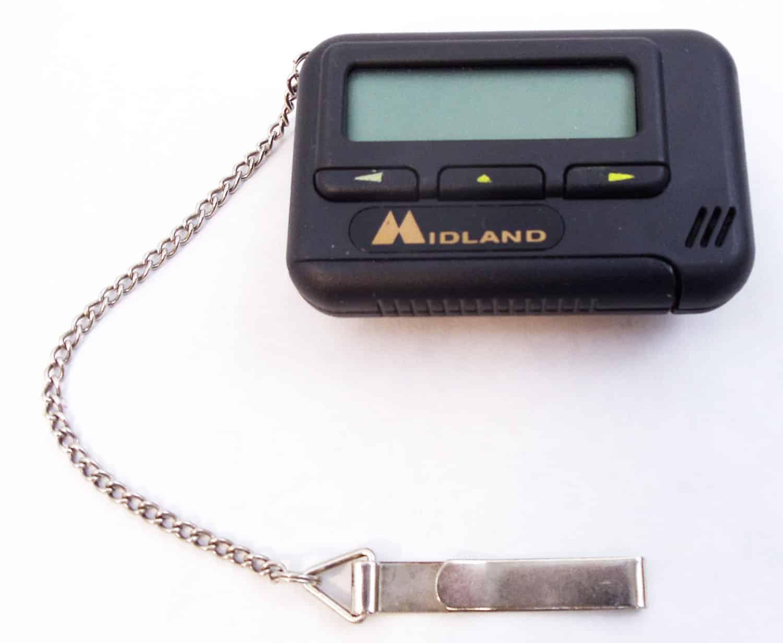 TRAVEL CLOCK - Midland Logo Small Travel Clock/Alarm