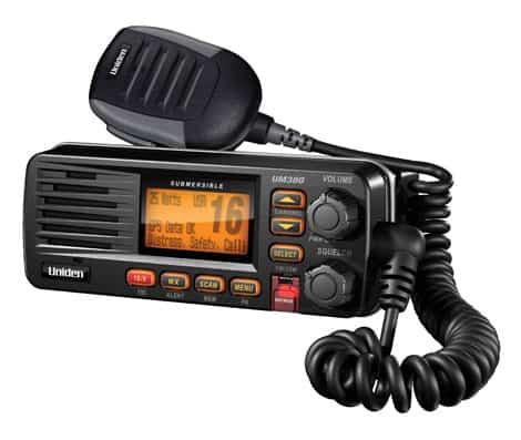 UM380BK - Uniden VHF Marine Radio