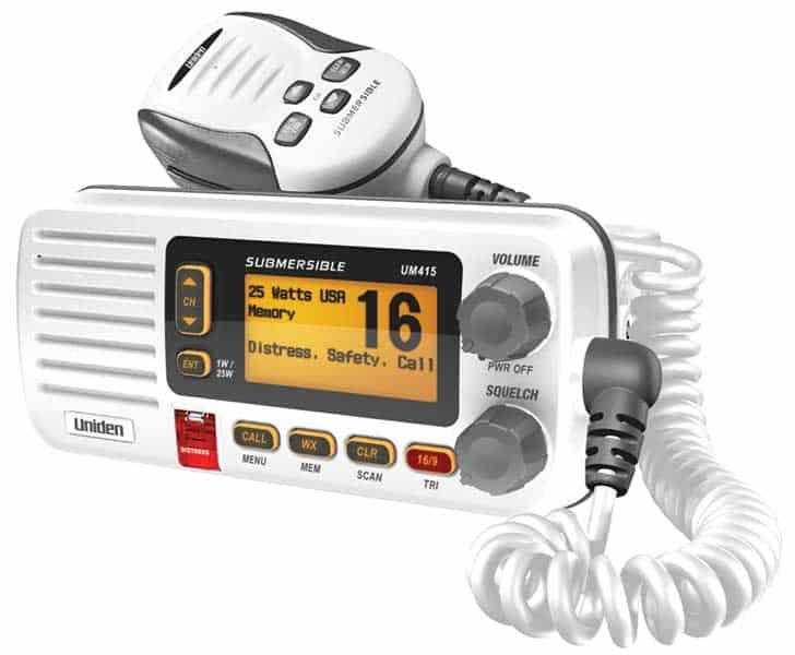 UM415 - Uniden VHF Marine Radio