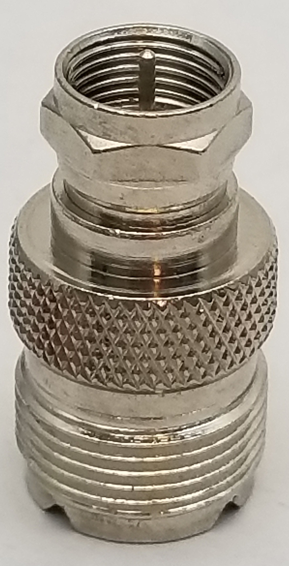 "VAD11X - Marmat So239 To Male ""F"" Connector"