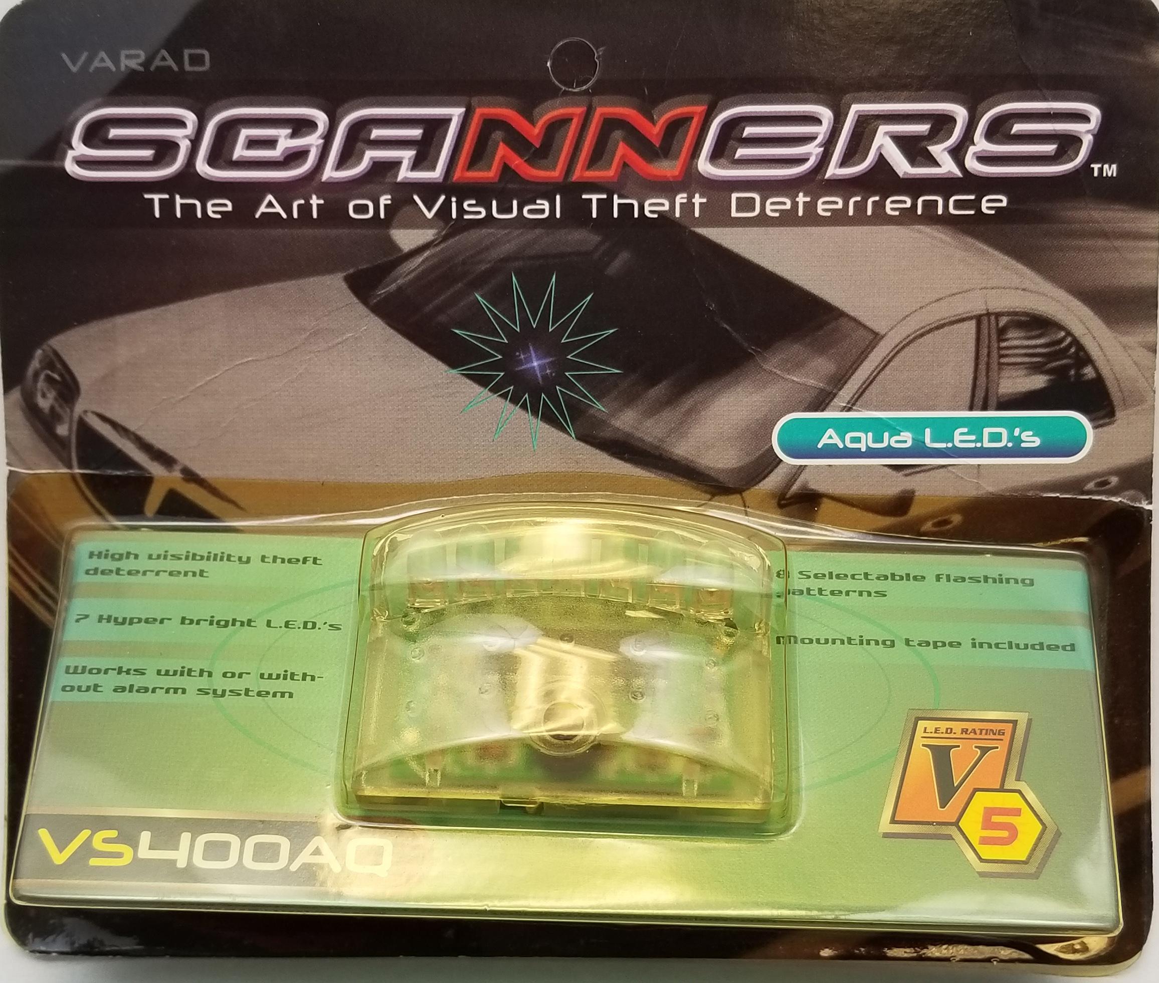 VS400AQ - Varad Laser 7 Led Aqua Light Theft Deterrent