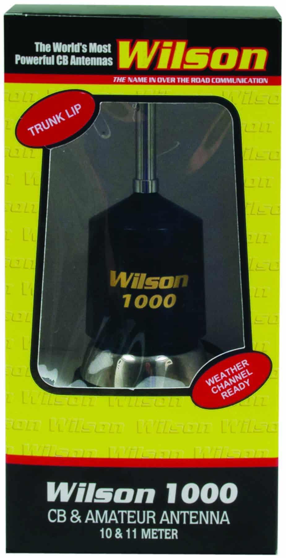 W1000TL-B - Wilson 1000 Trunk Lip Mount Cb Antenna