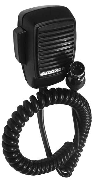 WTA20 - Maxon Replacement Microphone For Mcb45W Radio