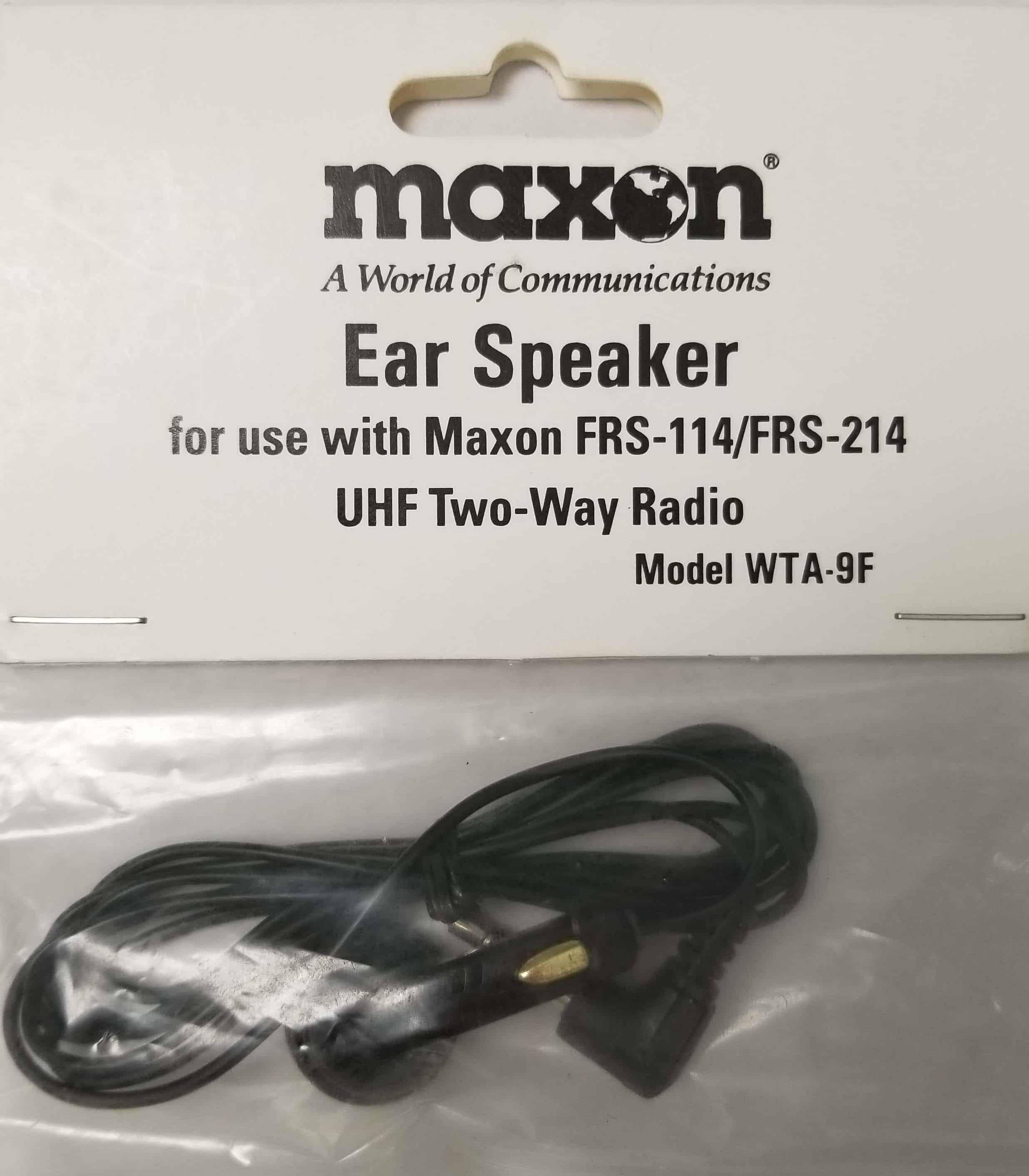 WTA9F - Ear Speaker For FRS-114 Radio