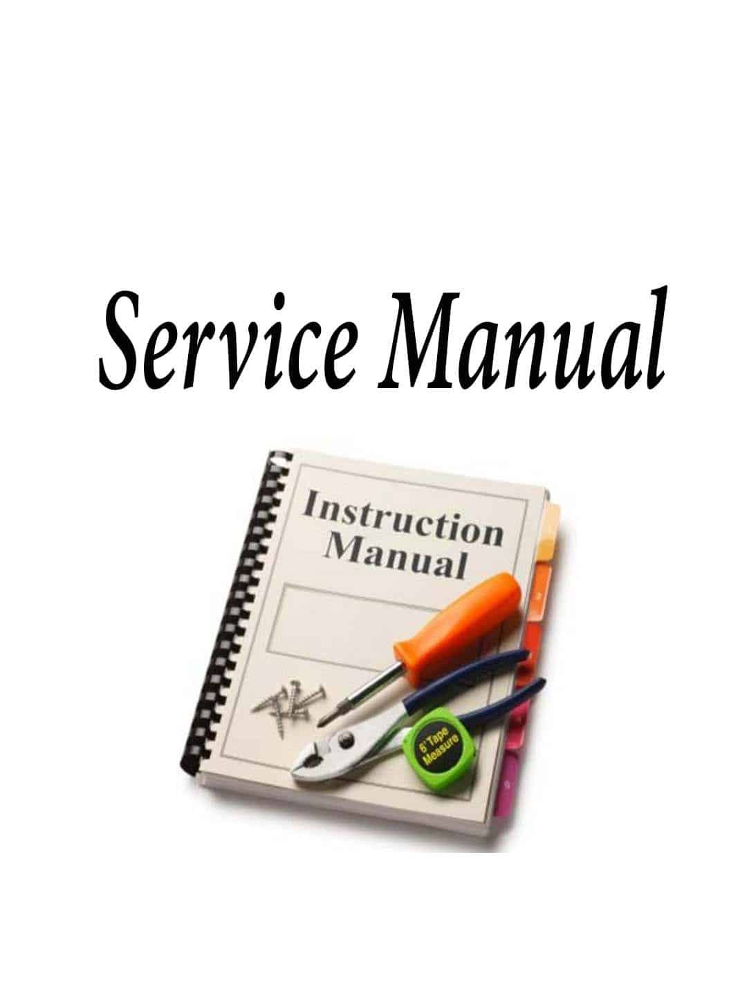 SMMCB10A - Service Manual For Mcb10A