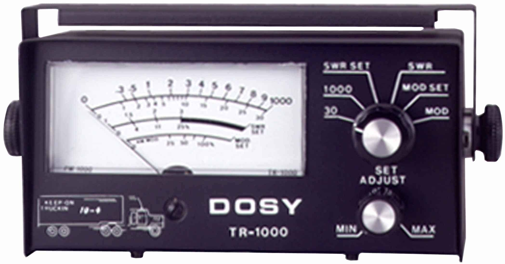 TR1000 - Dosy 1000 Watt In Line Mobile Swr/Watt Meter