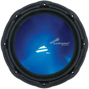 "TSPR12-BL - Audiopipe 12"" 750 Watt Subwoofer Speaker Blue Cone"