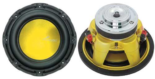 "TSPR15-Y - Audiopipe 15"" 850 Watt Woofer Speaker Yellow Cone"
