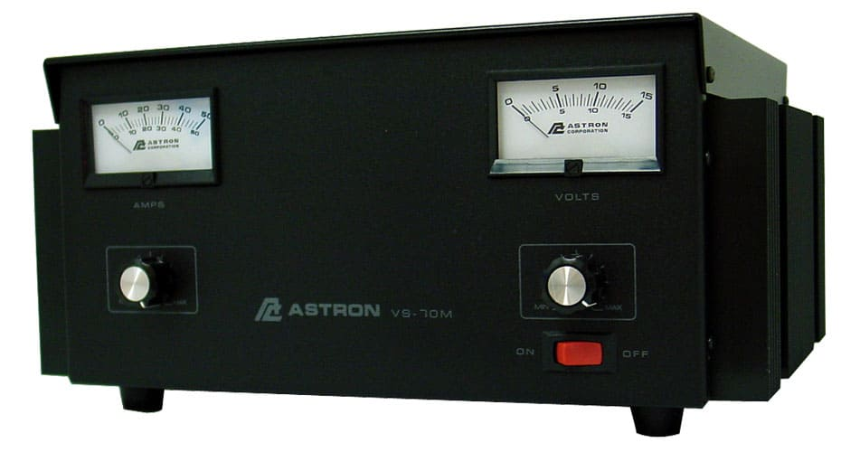 Astron Variable 12 Volt Power Supply VS12M