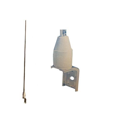 ASM177 - Antenna Specialists 4' Sailboat Antenna w/ 2' Coax