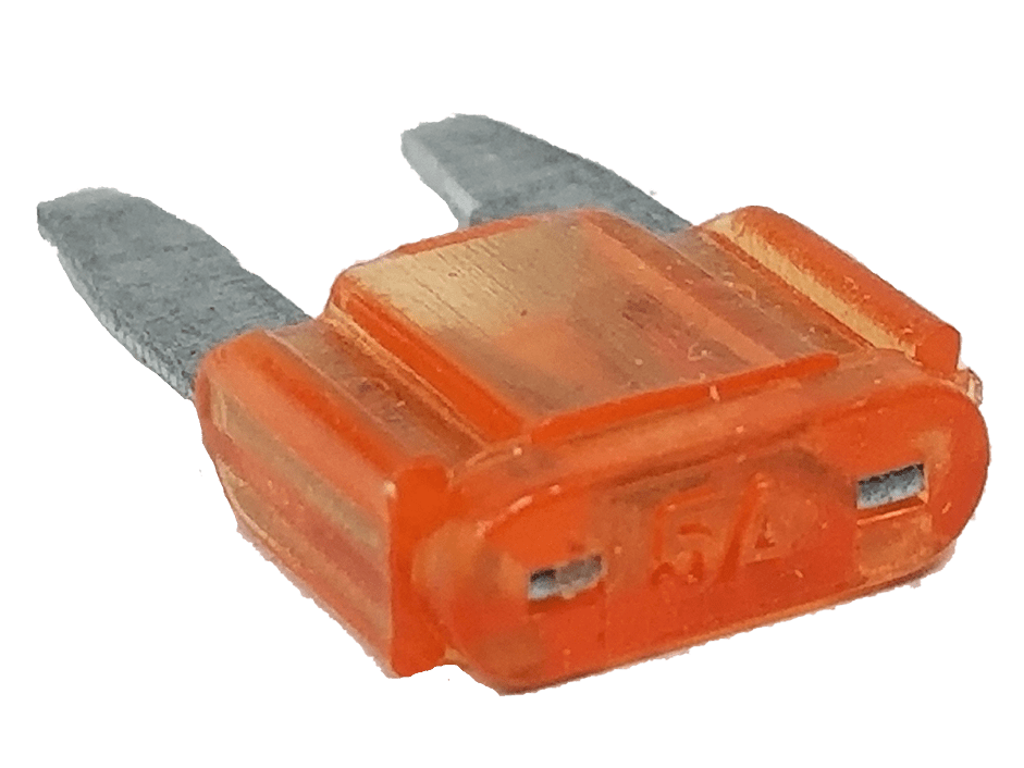 AST5 - Twinpoint 5 Amp Mini Fuse (10 Pcs)