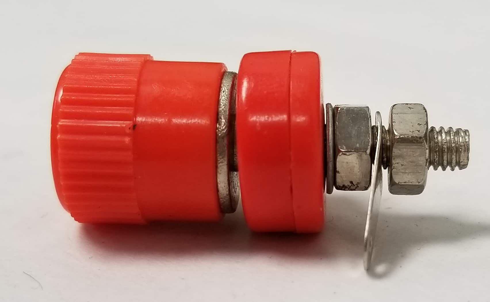 BP2X-R - Marmat Binding Post For Banana Plug (Red)