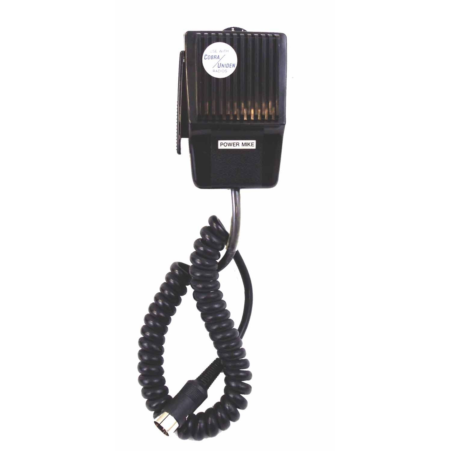 CB5DP - Marmat Power Microphone 5 Pin Din Cobra® Uniden (Battery Not Included)