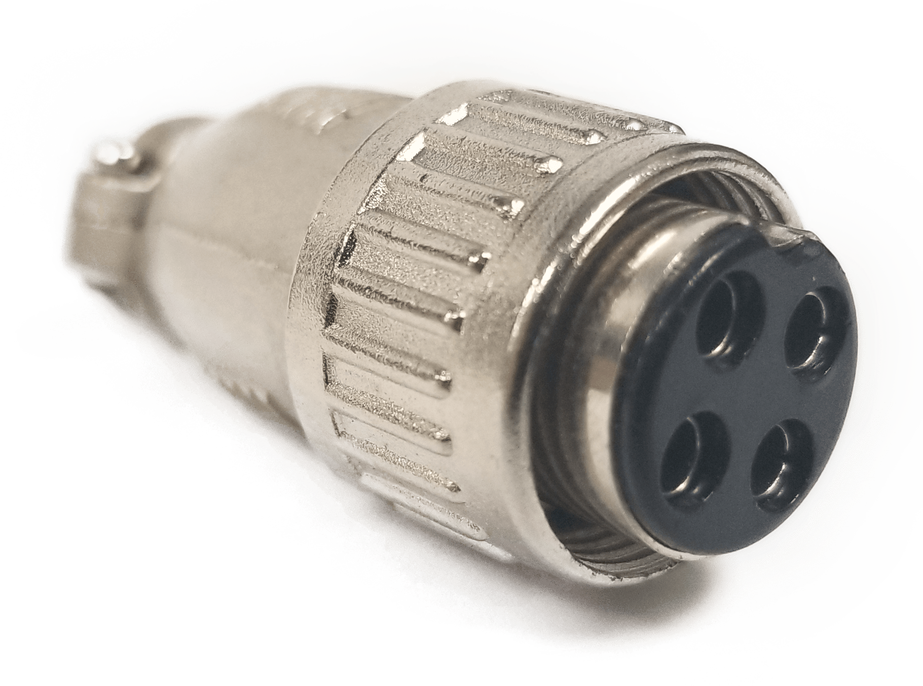 CBC4 - Marmat Die Cast 4 Pin Microphone Connector