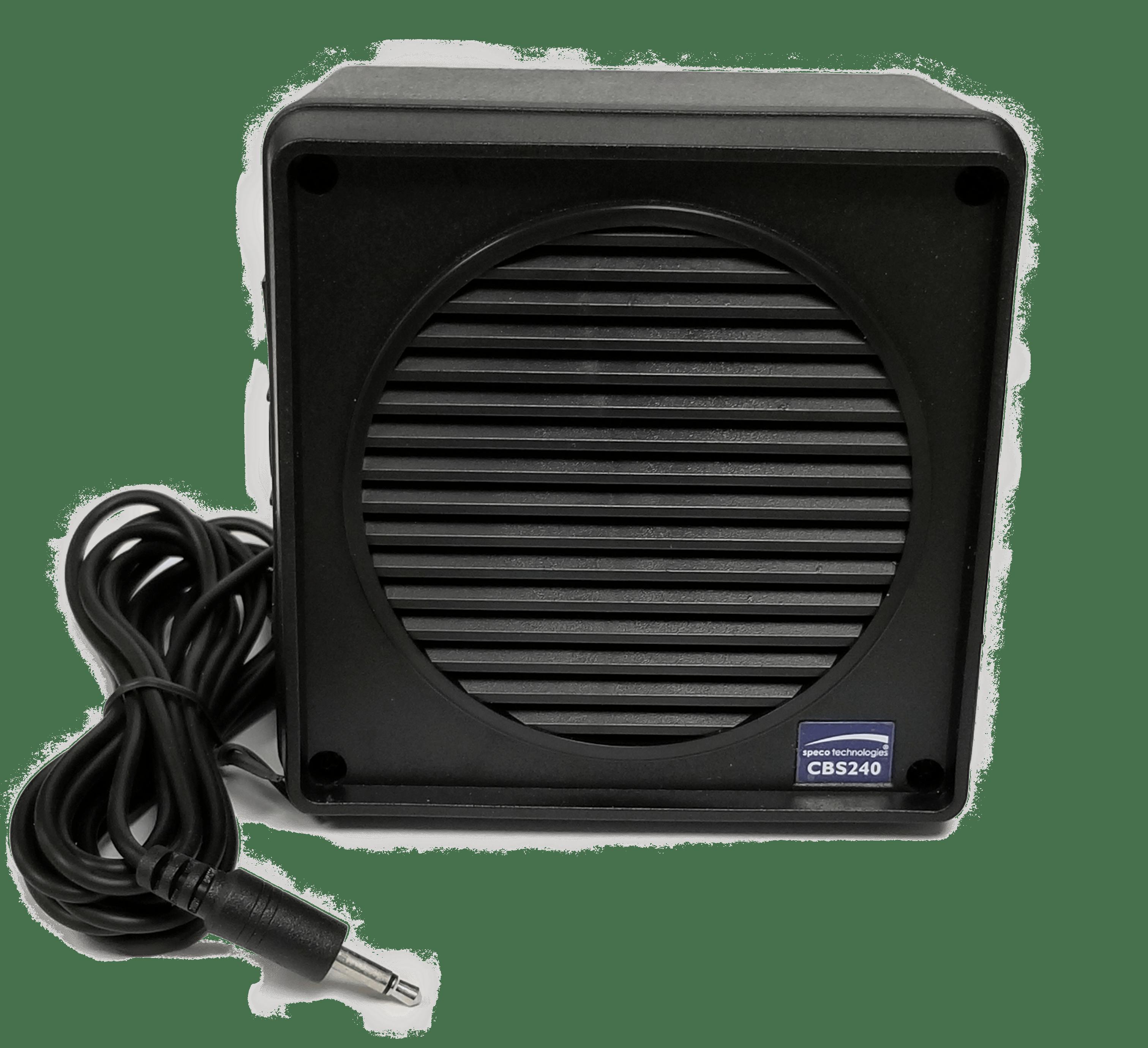 """CBS240B - Speco 5 Watt 3-1/2"""" Waterproof Speaker (Black)"""