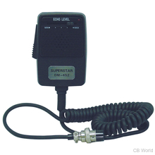 DM452-5 - Twinpoint 5 Pin Echo/Power Microphone W/ Mil 10 Cord