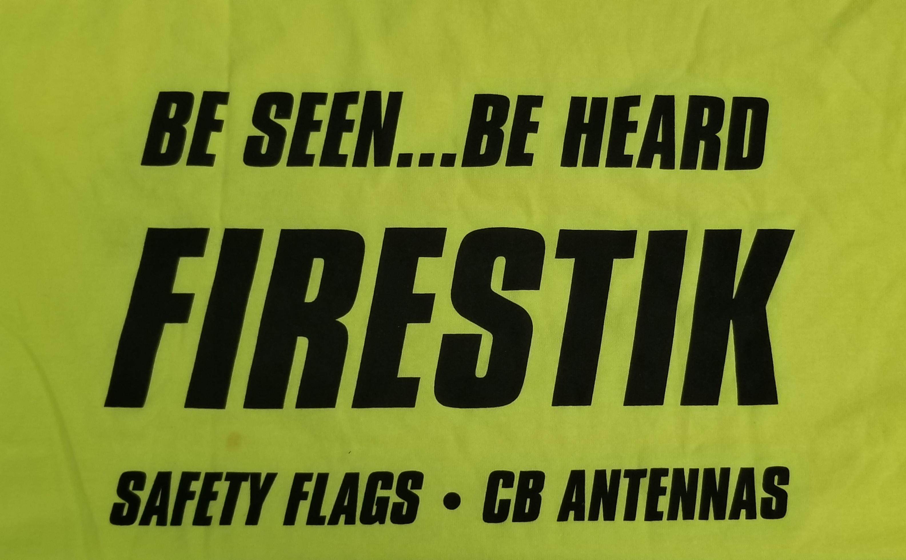 FIRESTIKTEE-M - Neon Firestik Tee Shirt (Medium)
