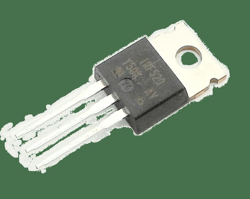 IRF520 - N-CH 100V 9.2A 3-Pin(3+Tab) TO-220AB