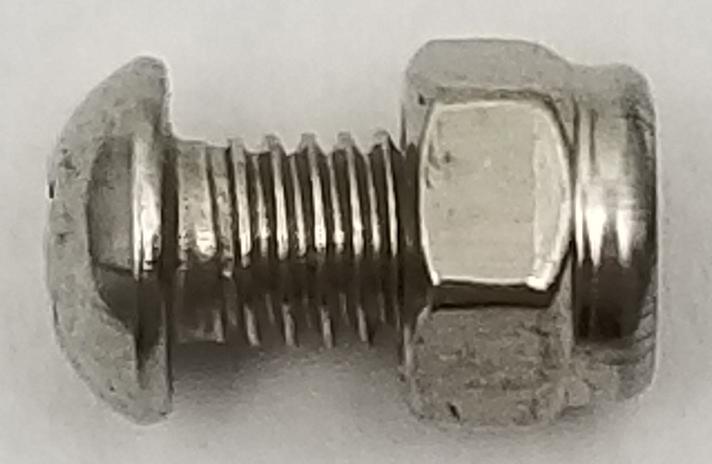 KSAGS - Kalibur Stainless Steel Ground Screw w/ Nylock Nut (25 Pk)