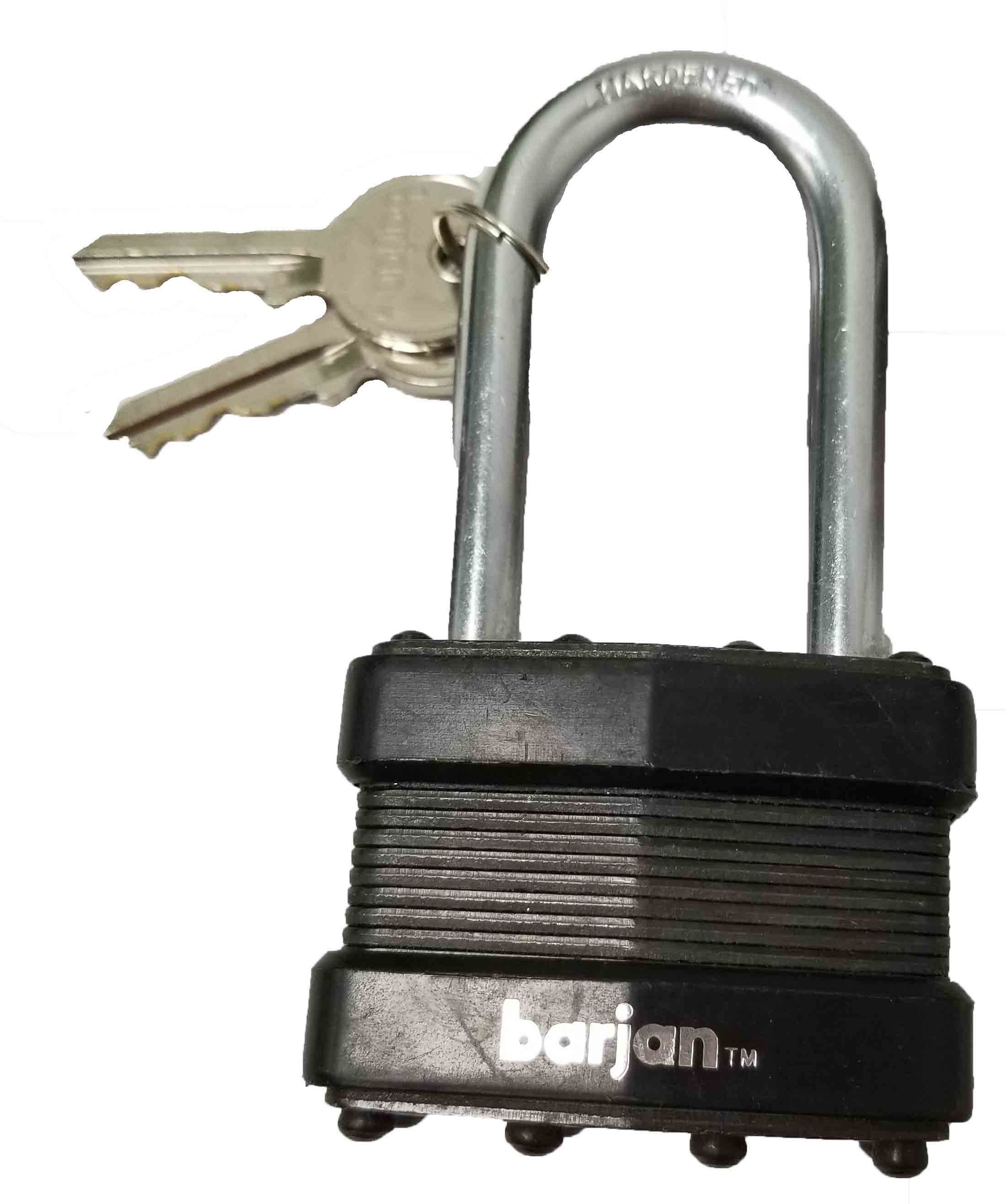 """0724761 - 2-1/2"""" Square Pad Lock"""