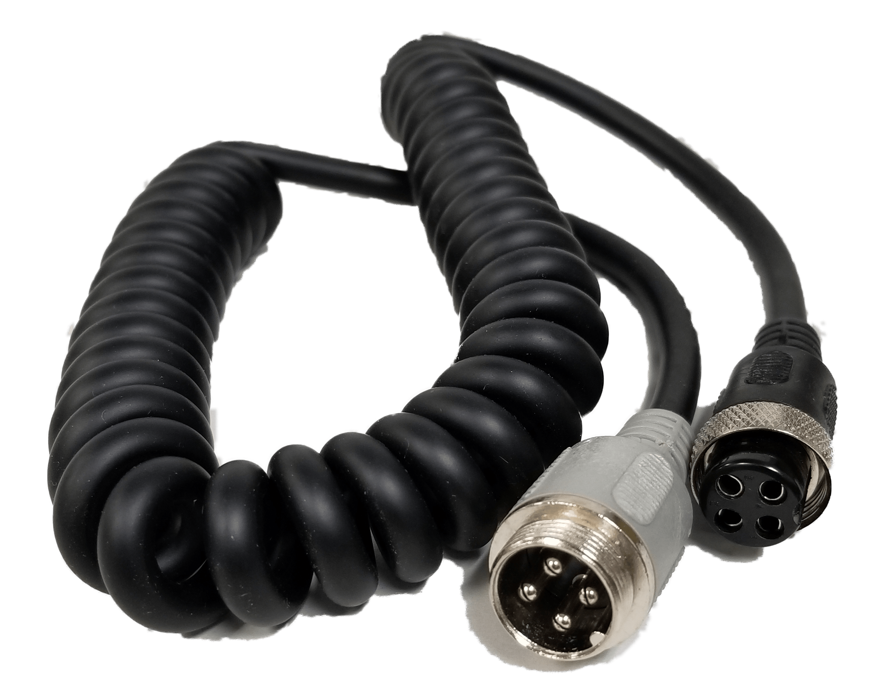 MCX64MX - Marmat 6' Microphone Extension Cord / Wired 4 Pin Midland
