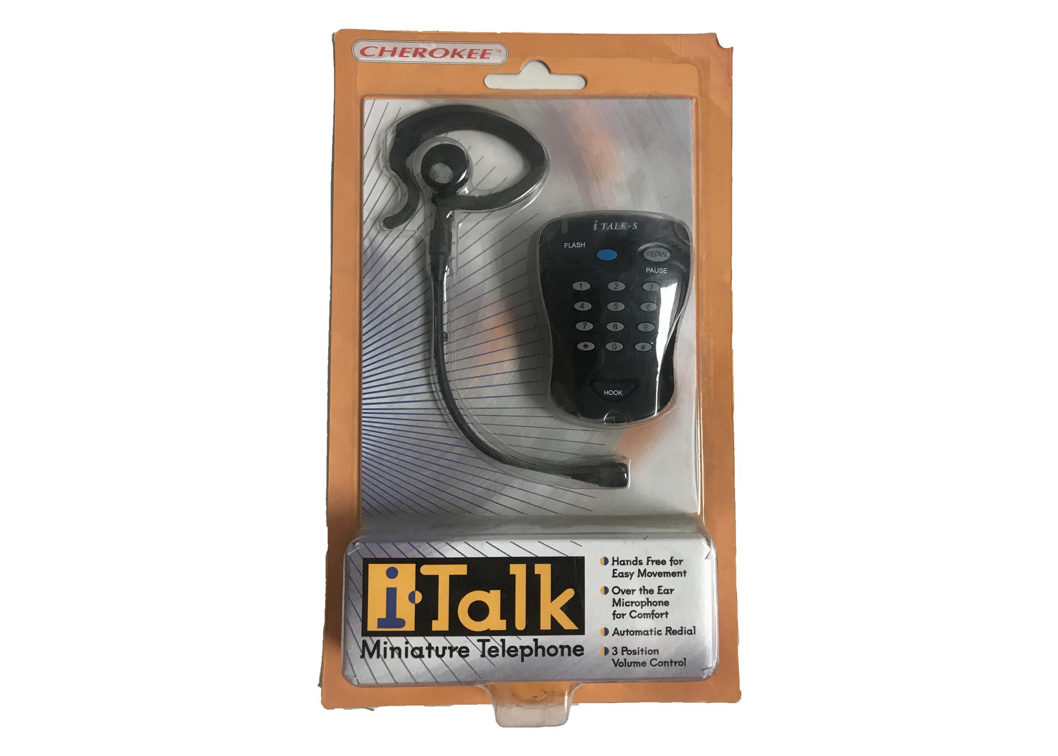 MP100-BLK - Sima I-Talk Mini Telephone