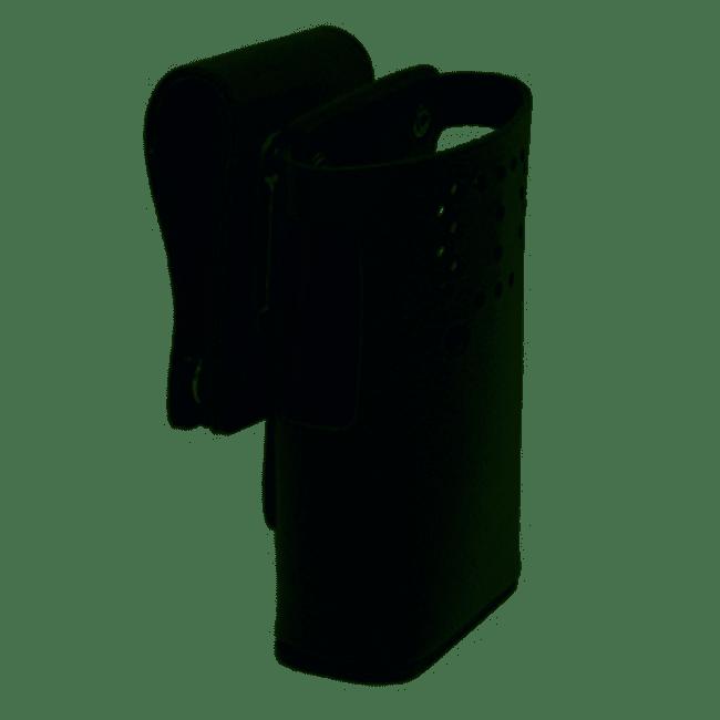 MR6045-20W - Motorola Heavy Duty Leather Carry Case W/Qr Belt Loop