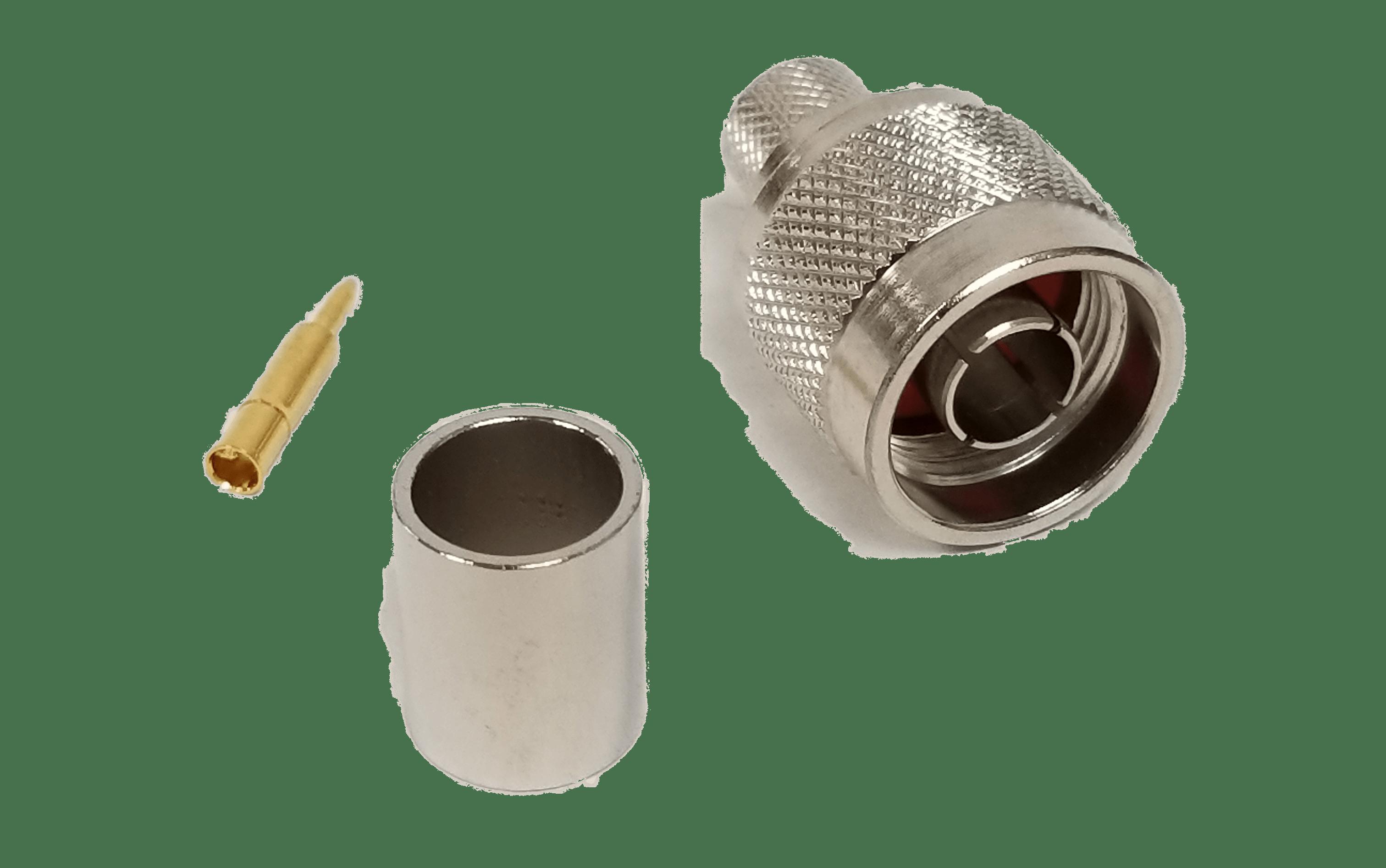 N019913C - ProComm Male N Connector For 9913 Belden Coax