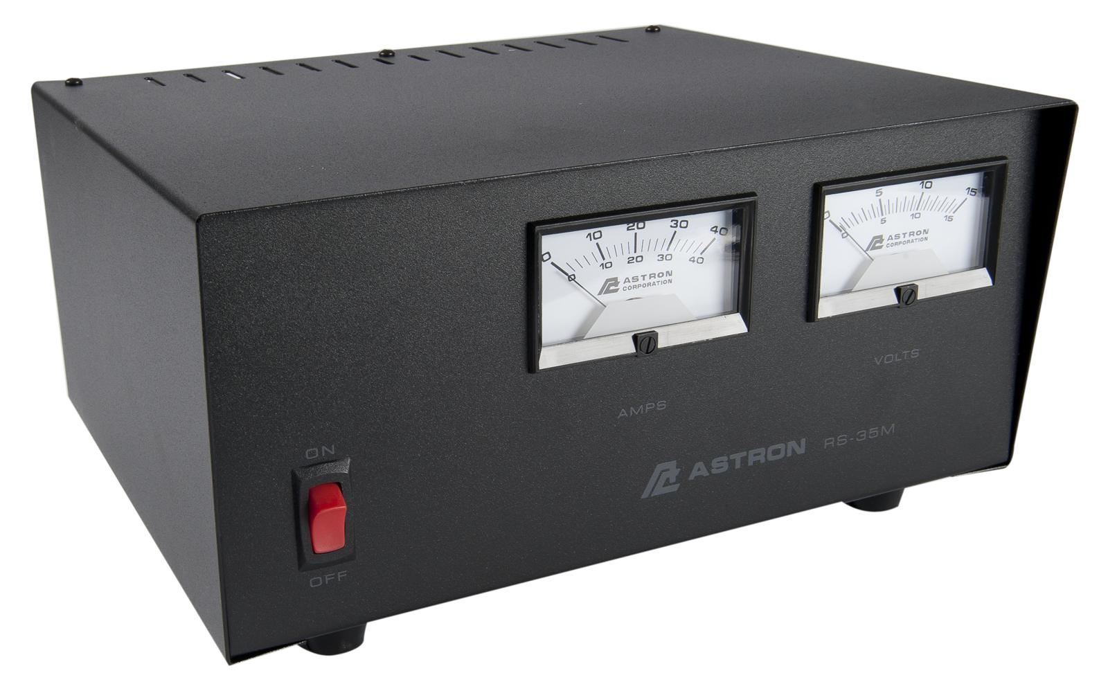 RS35M - Astron 35 Amp Power Supply With Meter