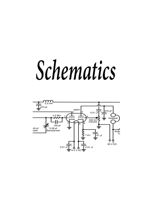 SCHPRO510XL - Uniden Schematics For Pro510Xl