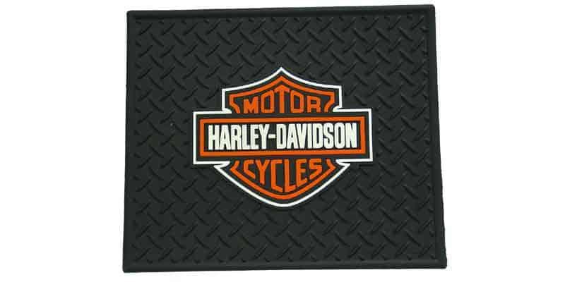 0241002 - Harley Davidson Rubber Utility & Vehicle Mat