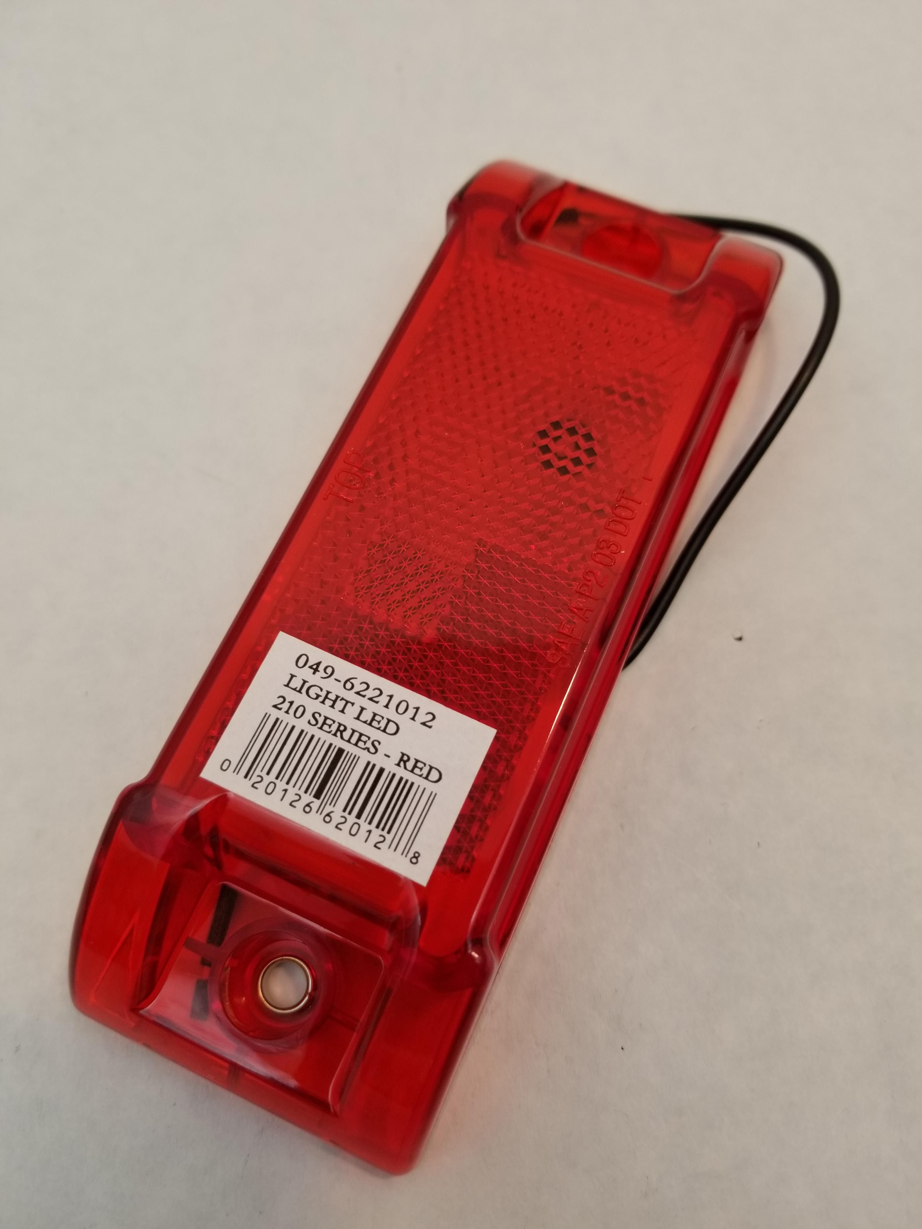 0496221012 - Red Light Sealed Marker ( Bulk )