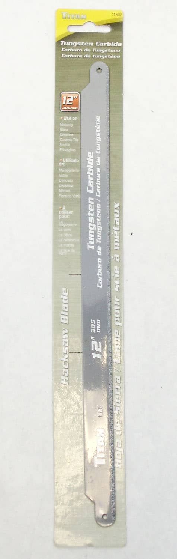 11802 - Titan Tools Tungston Carbide Hacksaw Blade