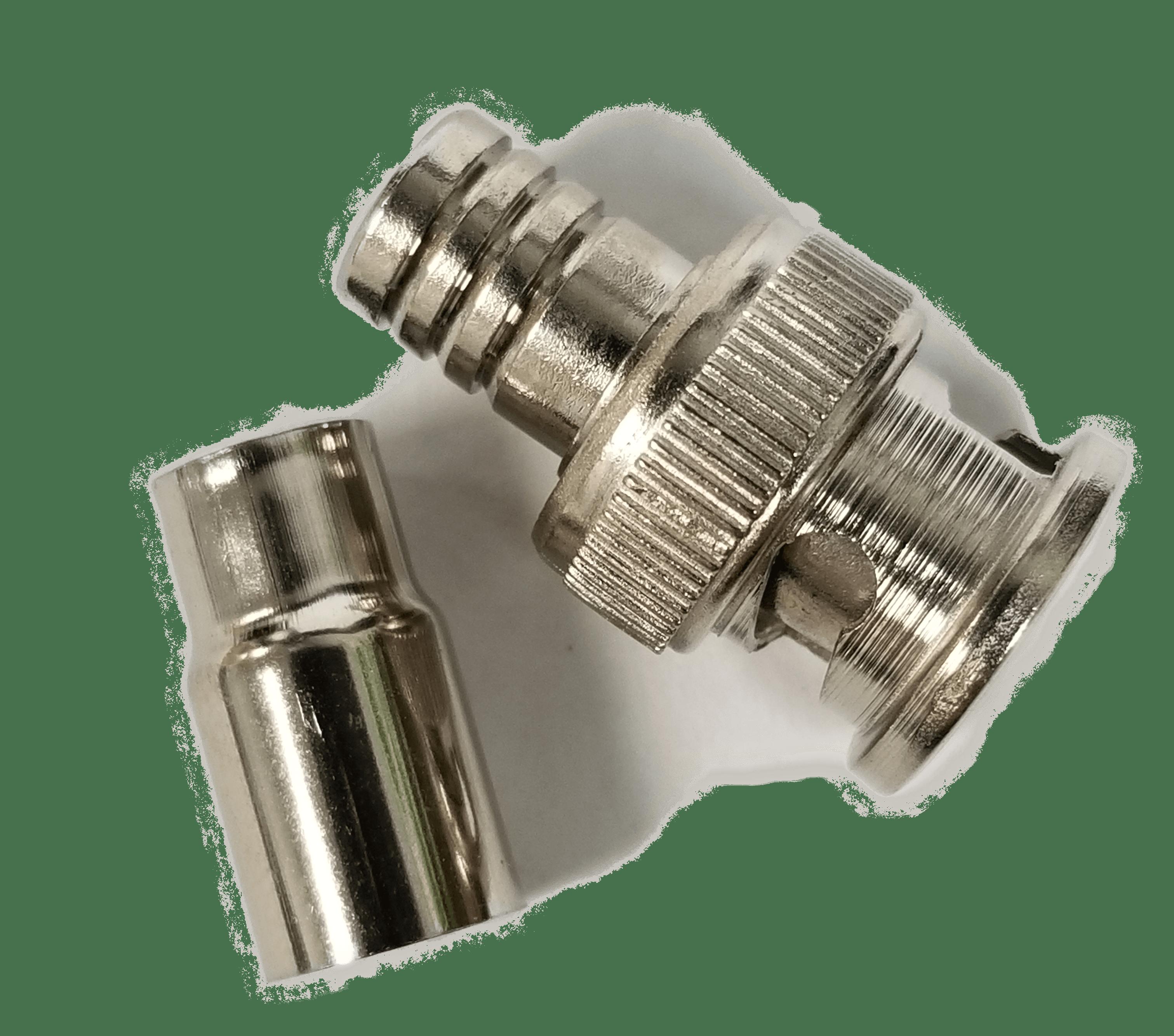 120424X - Marmat BNC Connector For RG6 Coax (Bulk)