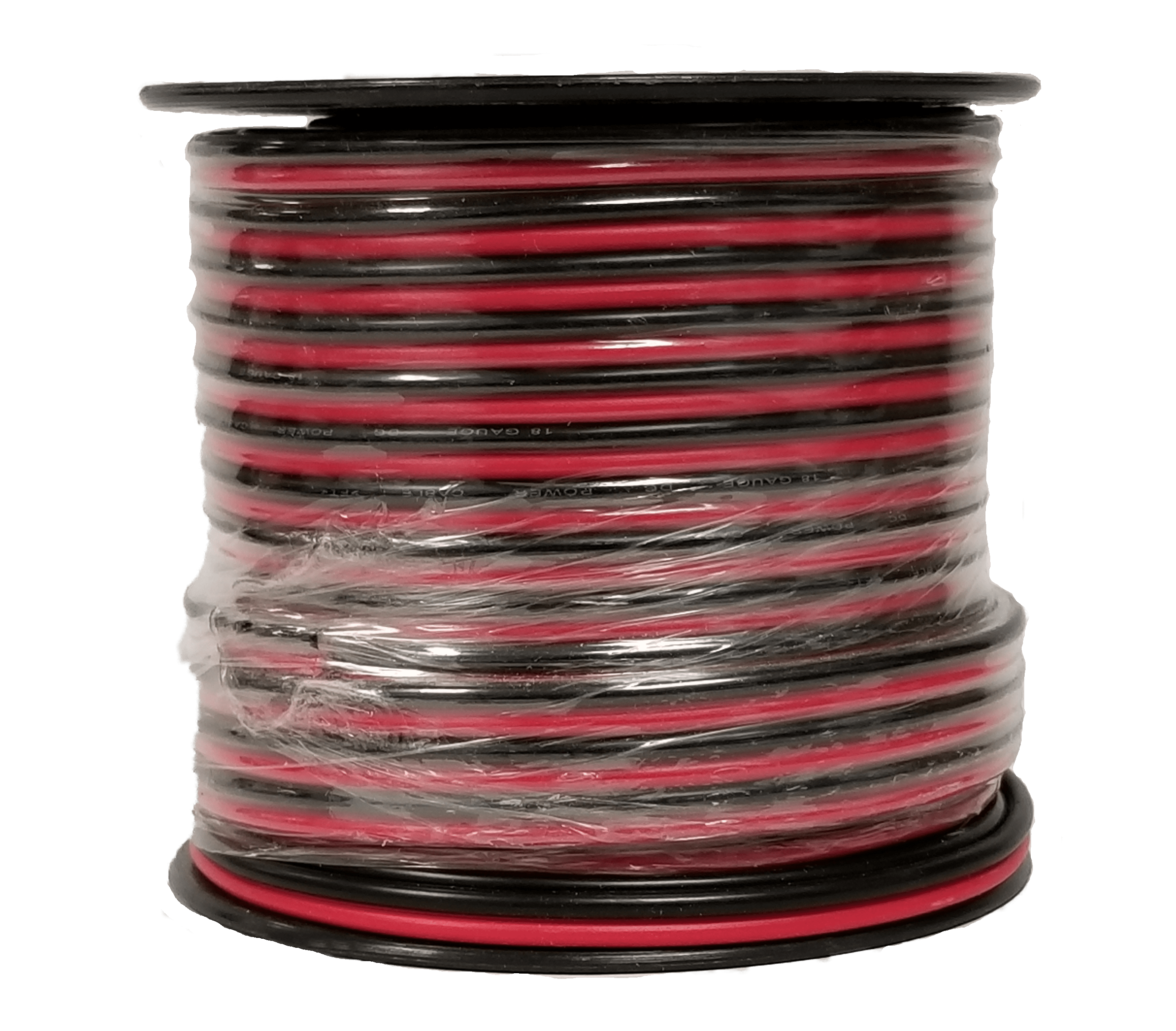18RB1 - Twinpoint 18 Gauge Zip Wire (Red/Black) 100 Ft Spool