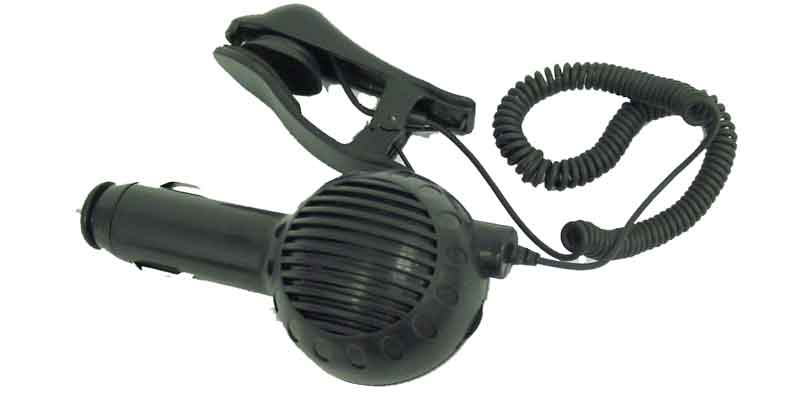 3044300 - Hands-Free Cigarette Lighter Plug w/Suction
