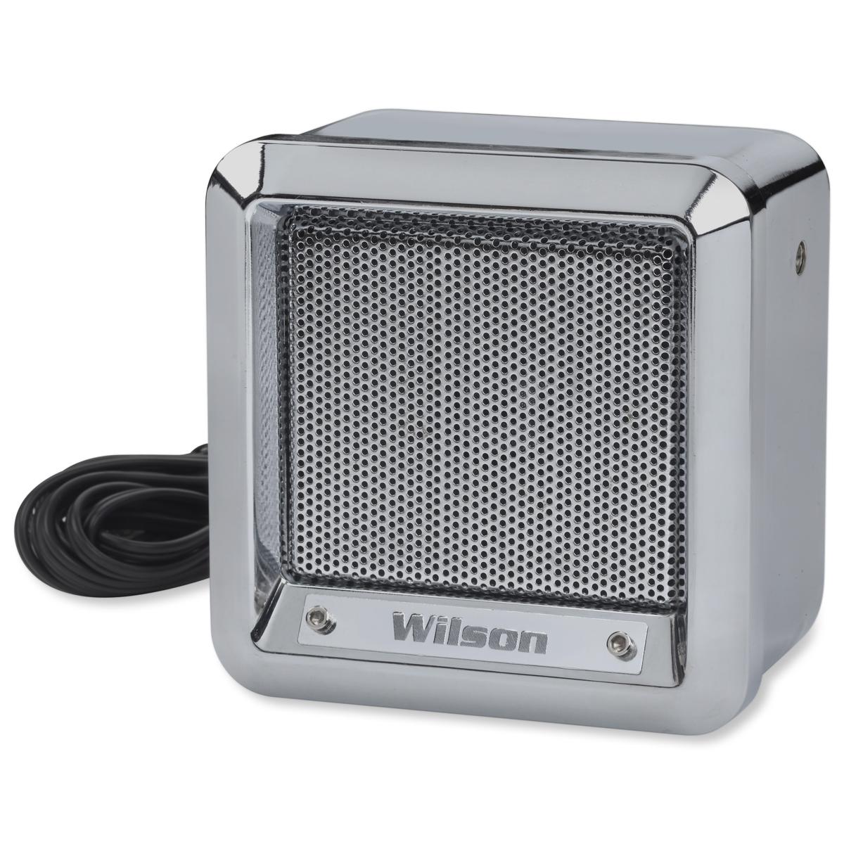 "305600 - Wilson 5"" Heavy Duty Metal External Speaker with 22 Gauge Black Wire"