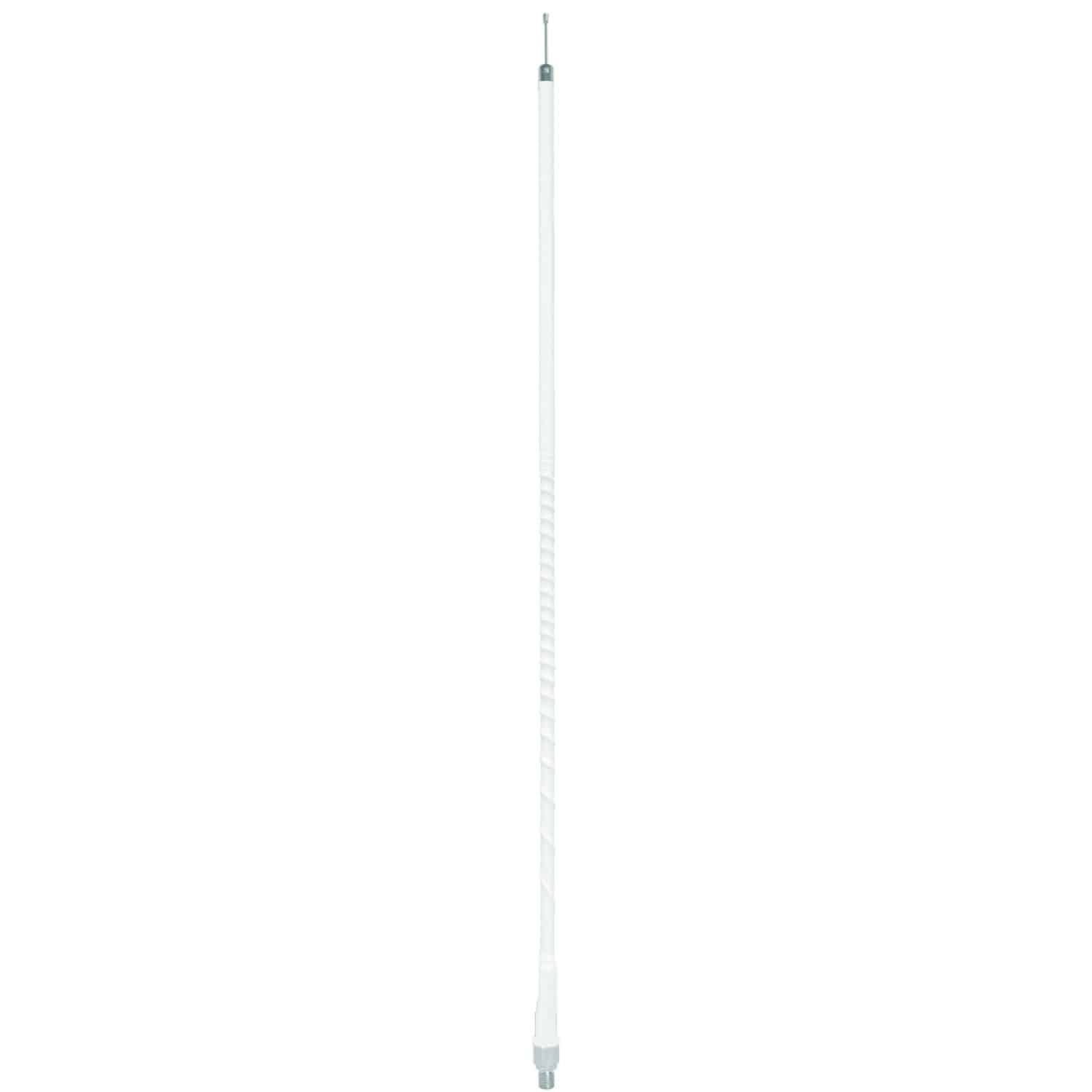 AUFLEX2-W - 2' White Superflex CB Antenna