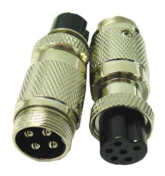 C4PDF6 - Twinpoint 4 Pin to 6 Pin Microphone Adapter
