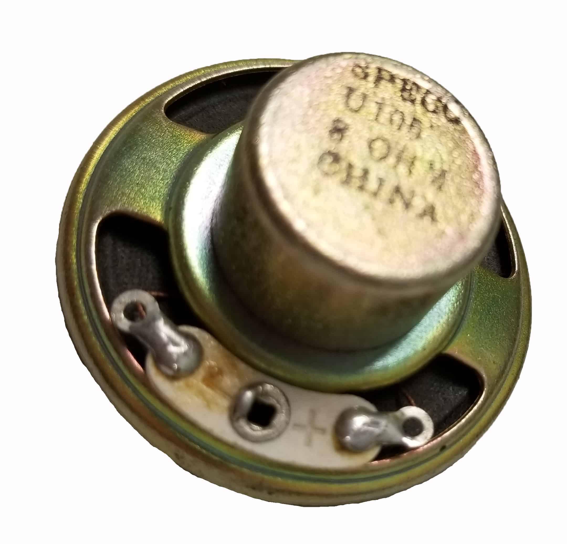 """CB52E - Speco 1 1/2"""" Replacement 8 Ohm Speaker (Bulk)"""