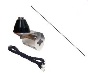 CB World Exclusive Kit with CB Radio, Antenna, Mirror Mount, and Coax