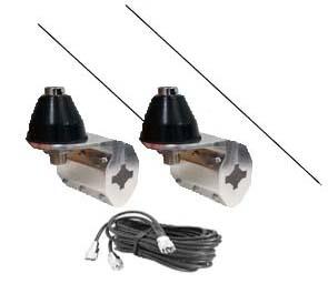 Dual Antenna Kit with CB Antenna