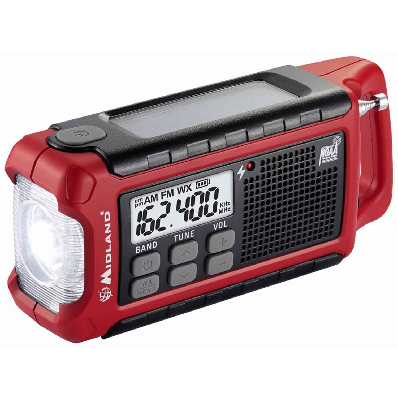 ER200 - Midland Emergency AM/FM Crank Radio