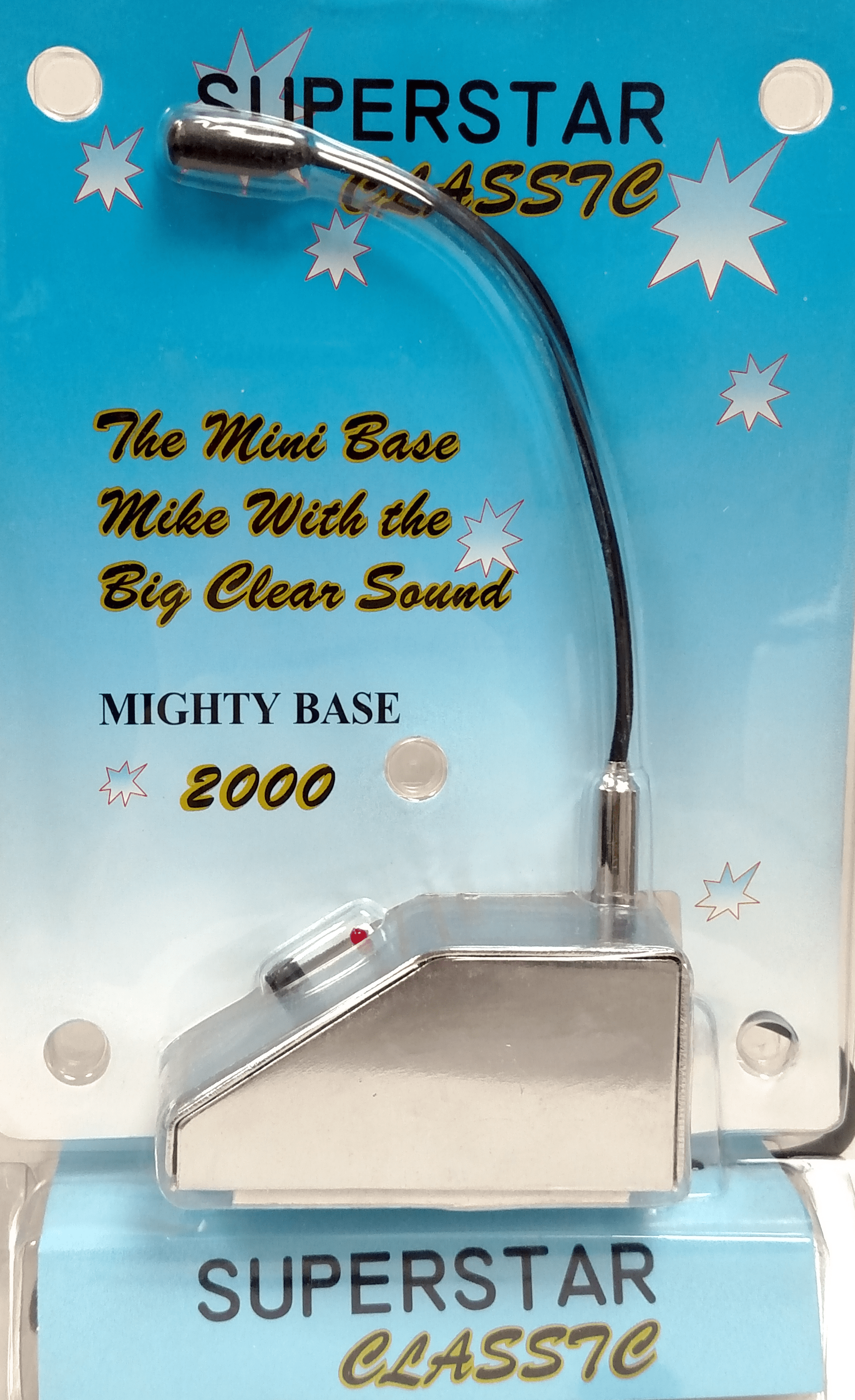 MBM4 - Twinpoint Superstar Base Station Microphone