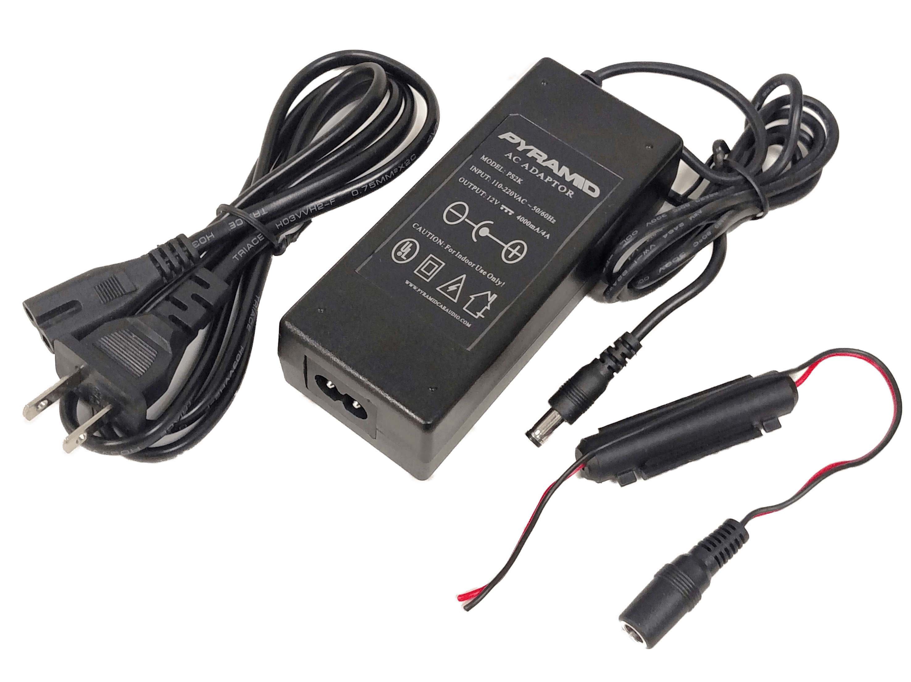 PS2 - AC To DC Adapter 12V Output 4000MA/4A
