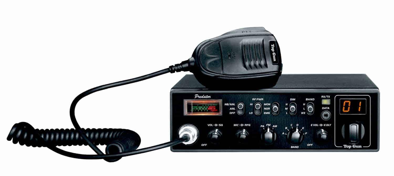 PREDATOR - Top Gun Technologies - AM/FM/PA 10 Meter Radio